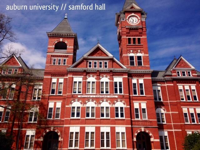 Within reach visits auburn university in spring 2014 - Auburn university interior design program ...
